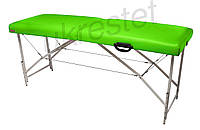 """Массажный стол-кушетка """"Premium"""" Неоновый зеленый"""