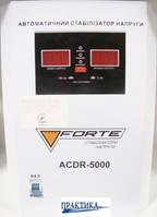 Стабілізатор напруги FORTE ACDR-5kVA потужн. 5000, вага 12,5 кг