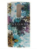 Силиконовый бампер чехол с рисунком для LG G4c Magna