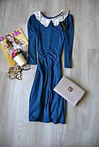Новое синее платье с воротничком New Look, фото 2