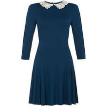 Новое синее платье с воротничком New Look, фото 3
