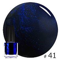 Декоративный лак NUB HURRICANE BLUE 41