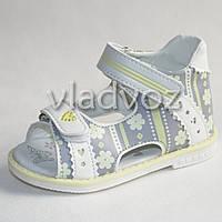 Босоножки сандалии для девочки на девочку девочкам ортопедия 21р. Tom.m белые
