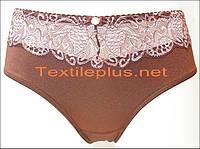 Женские трусики Lanny mode коричневый розовый 51678