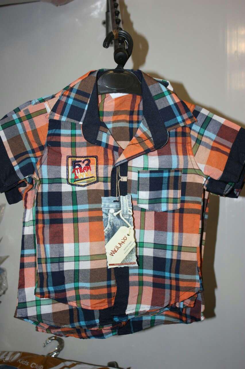 Детская рубашка Wikiland