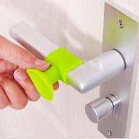 Защита на ручку двери Зеленая