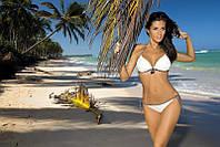 Соблазнительный купальник бикини Megan от TM Marko (Польша) с черными завязками