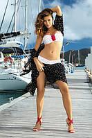 Шикарный женский купальник Carine от TM Marko (Польша) в черный горошек