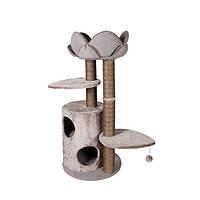 Когтеточка Karlie-Flamingo Tree+Basket Lotus для кошек многоуровневая, 48х48х110 см