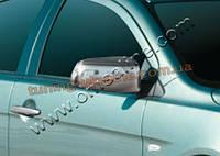 Накладки на зеркала Omsa на Mitsubishi Lancer 10 2007-2016 седан