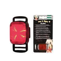 Фонарик для ошейника Karlie-Flamingo Blinki 4 Lamps для собак, 4 лампочки