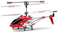 Вертолёт с 3-х канальным и/к управлением, светом и гироскопом 22 см Red Syma (S107G)