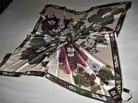 Платок Lorentino  тенсель 70% шёлк 30% можно приобрести на выставках в доме торговли Киев
