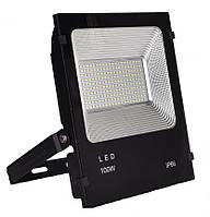 Прожектор LED ELMAR LFL 100Вт 6400K SMD IP65, черный