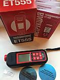 Толщиномер ET-555, фото 3
