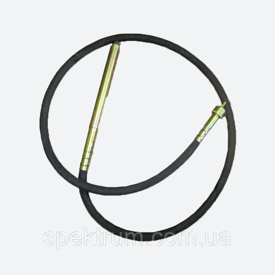 Гибкий вал глубинного вибратора Spektrum ZIP-150 (длина 4 м, диаметр 29 мм)
