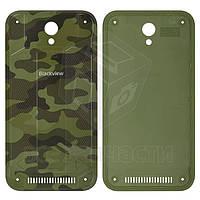 Задняя крышка батареи для мобильного телефона Blackview BV5000, зеленая