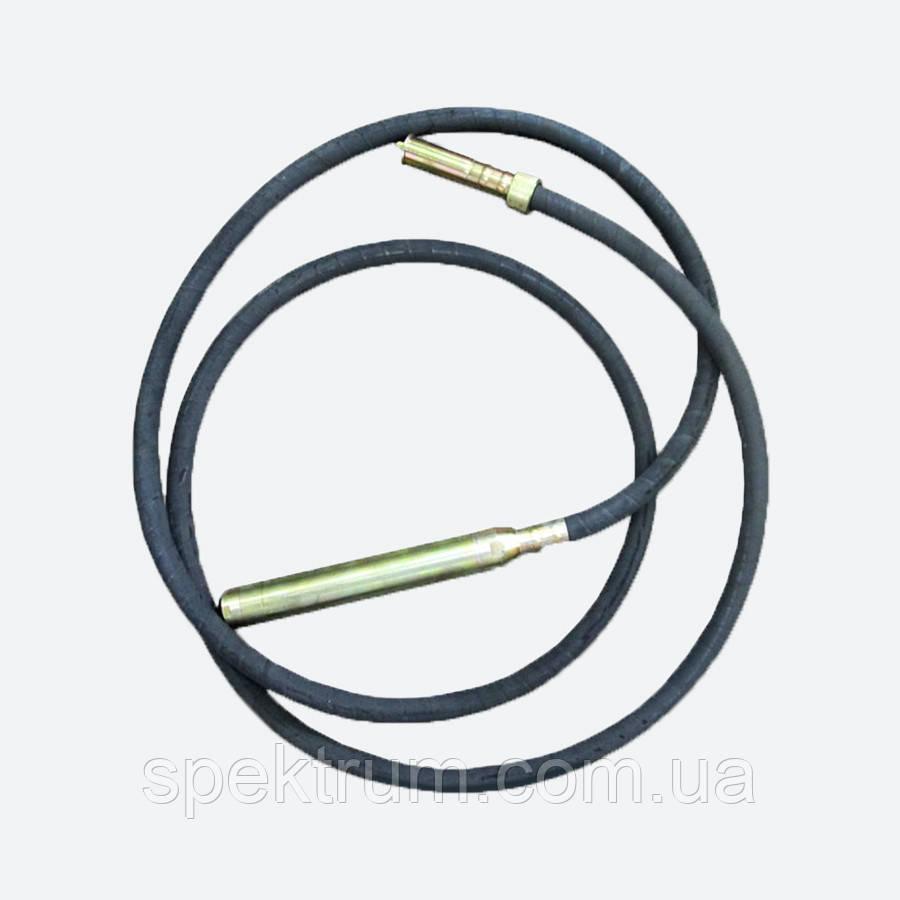 Гибкий вал с булавой для строительного вибратора Spektrum (4 м, диаметр 48 мм)