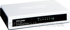 Коммутатор TP-LINK TL-SF1005D, 5x10/100 Mb/s, пластиковый корпус, неуправляемый