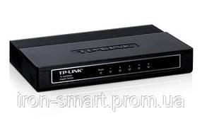Коммутатор TP-LINK TL-SG1005D, 5x100/1000 Mb/s, пластиковый корпус, неуправляемый