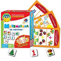Настольная игра «Математика на магнитах» VT1502-18 Vladi Toys  (укр)
