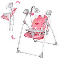 Детское кресло-качели с электроприводом M 1540-01 Bambi