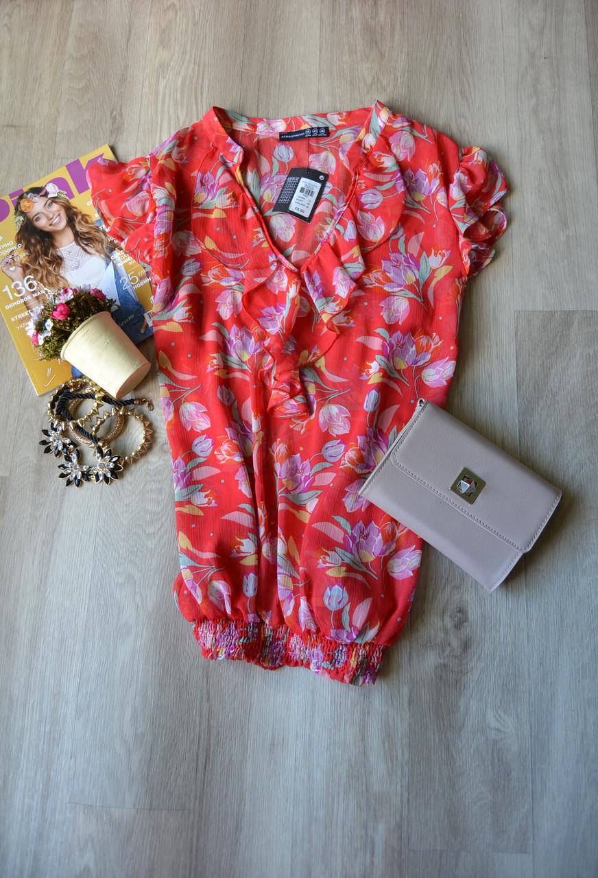 Новая цветочная шифоновая блузка Atmosphere