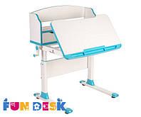 Парта трансформер для школьника для дома FunDesk Pensare Blue