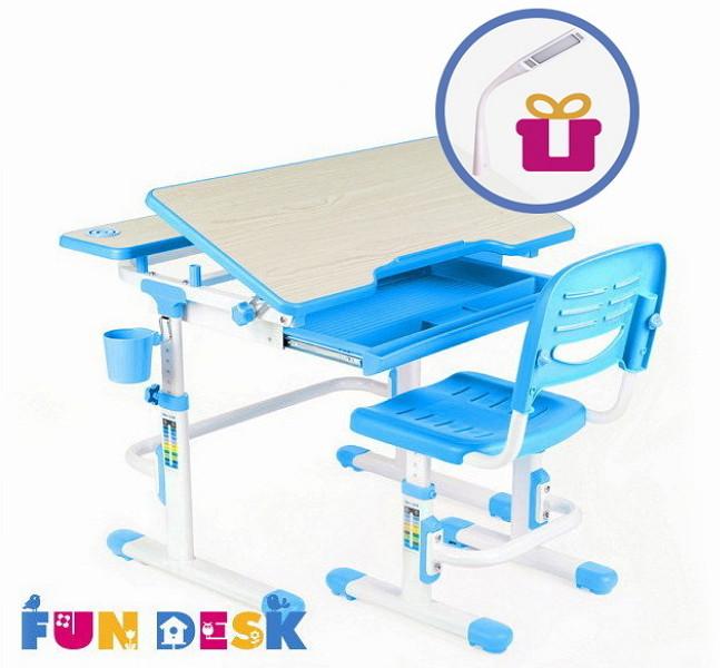 Парта и стульчик FunDesk Lavoro Blue