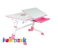 Стол парта-трансформер  FunDesk Amare Pink для дома и школы