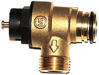 Клапан безопасности 3 бара (фирменная упаковка, Китай) Protherm, Saunier Duval, артикул 3V12T, код сайта 0716
