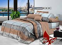 Полуторный комплект постельного белья ранфорс R110925 ТM TAG
