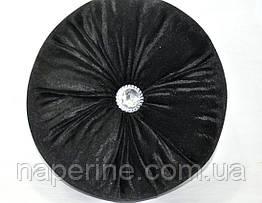 Декоративная подушка в восточном стиле черная