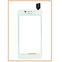 Сенсор (тачскрин) Sony D2305 Xperia M2 Dual White Original