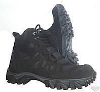 Ботинки тактические Хантер черные нубу
