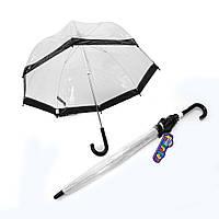 Детский зонт прозрачный Fulton Funbrella-2 C603 - Black