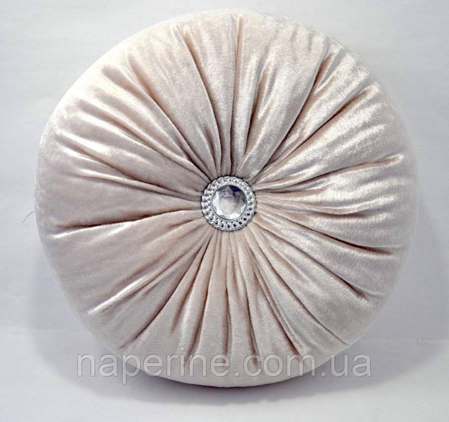 Декоративная подушка в восточном стиле песочная