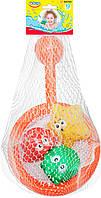 Сачок с брызгалками Зверьки-ныряльщики, BeBeLino 57118