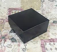 Коробка для 4-ох кексов / 170х170х90 мм / печать-Черн / б.о., фото 1