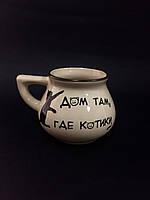 Чашка чайная кот