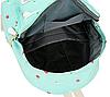 Рюкзак с сумочкой в цветочек 4 в 1, фото 9