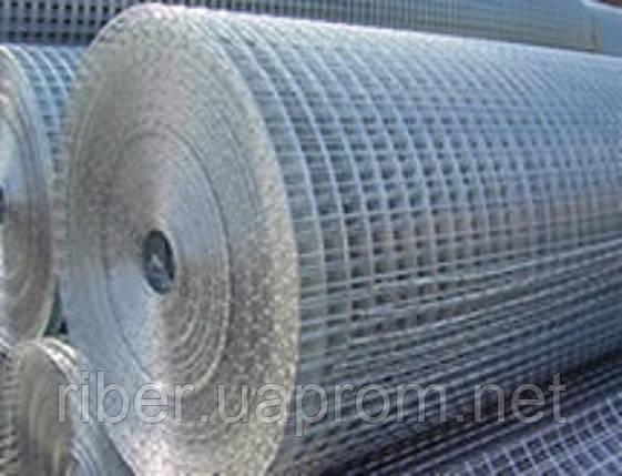 Сетка сварная оцинкованная 50х50х1.8мм 1/10м, фото 2