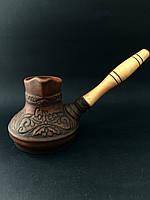 Турка с деревянной ручкой 500 мл