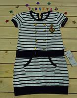 Милое  платье  для девочки на 3-6 лет