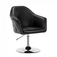 Кресло парикмахерское HC547 черное