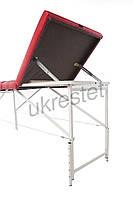 Trio Comfort Массажный  стол-кушетка трёхсекционный складной  Красный