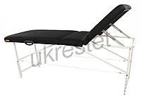 Trio Comfort Массажный  стол-кушетка трёхсекционный складной  Черный