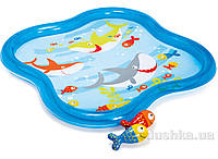 Бассейн Intex Подводный мир с фонтанчиком (57126)