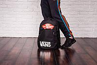 Городской рюкзак спортивный, для ноутбука, мужской, женский, портфель, сумка Vans