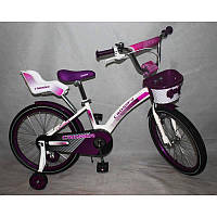 Велосипед детский Азимут Барби 18 дюймов Azimut Barbie двухколесный